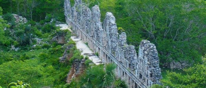 Uxmal site archéologique Mexique