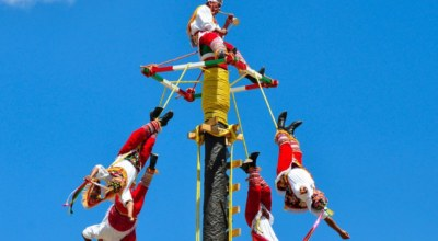 Voladores de Papantla Mexique