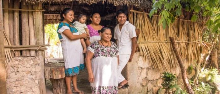 famille maya- Mexique Decouverte