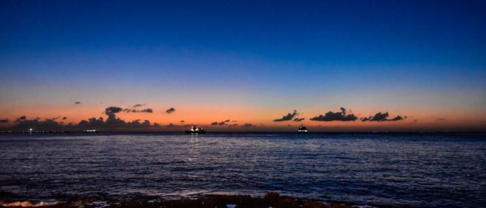 coucher de soleil cozumel mexique decouverte