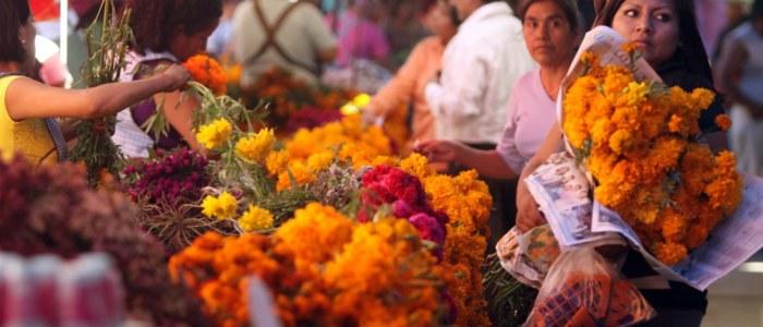 Dia de muerto Cancun Mexique