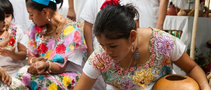 femmes mayas yucatan mexique