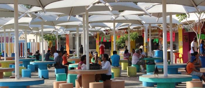 Parque de las palapas Mexique