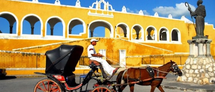 Izamal Mexique Decouverte