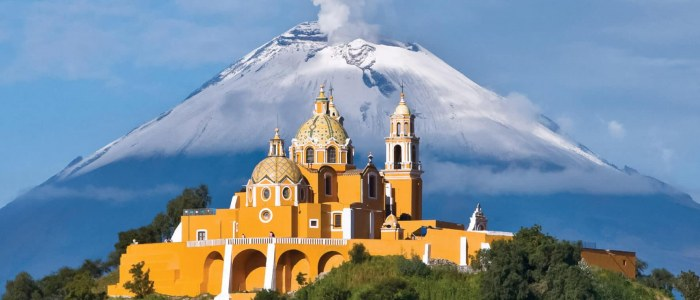 Cholula Puebla Mexique