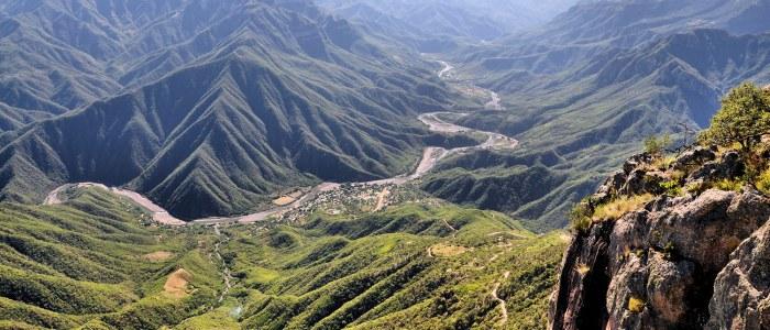 Barrancas del Cobre Mexique