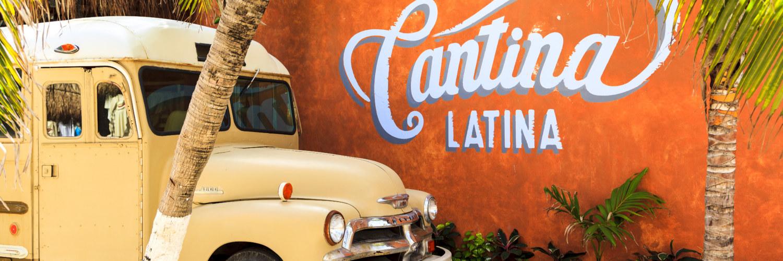 Camionnette Mexique