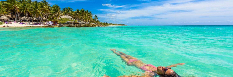 Cancun plage Mexique