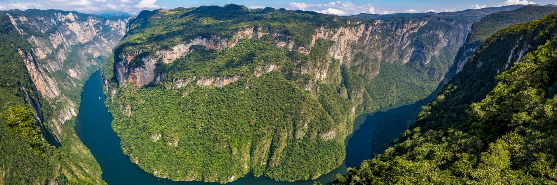 Canyon del Sumidero Chiapas Mexique