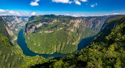Canyon del Sumidero Chiapas Mexique