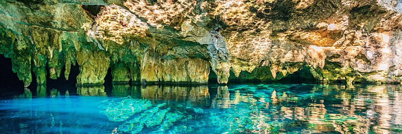 Cenote Péninsule du Yucatan Mexique
