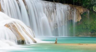 Cascades Agua Azul Chiapas Mexique