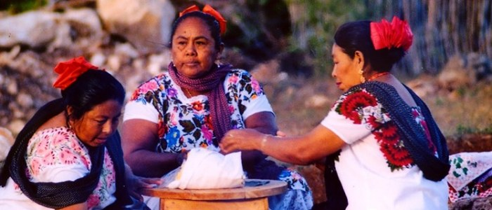 Communauté Maya Mexique