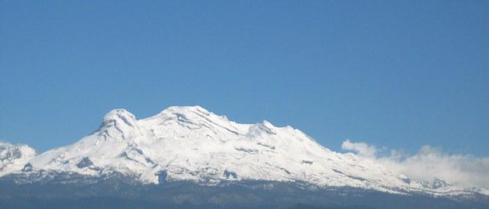 Ixtaccihuatl volcan Mexique