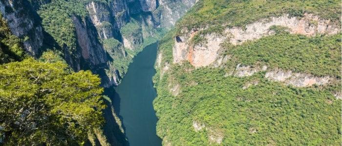 Canyon Sumidero Mexique Découverte