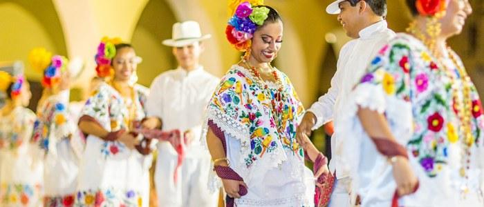 Merida Mexique Danse