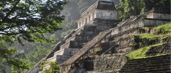 Palenque Mexique Decouverte