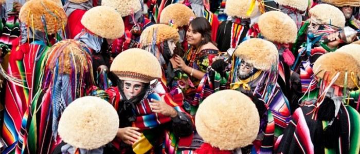Parachicos Chiapas Mexique