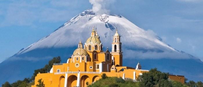 Cholula Puebla Mexique