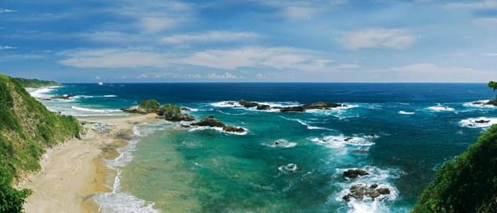 Puerto Escondido Mexique Plage