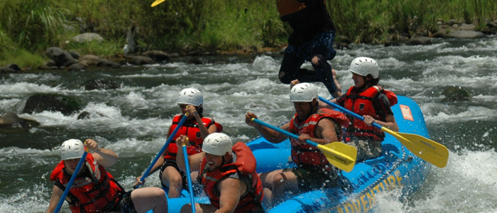 Rafting Jalcomulco Veracruz Mexique