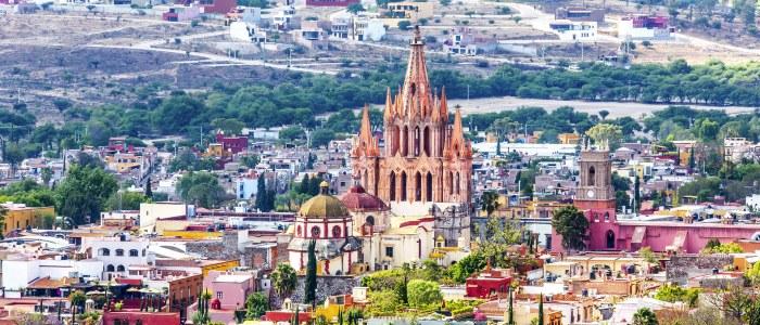 San Miguel Allende Mexique
