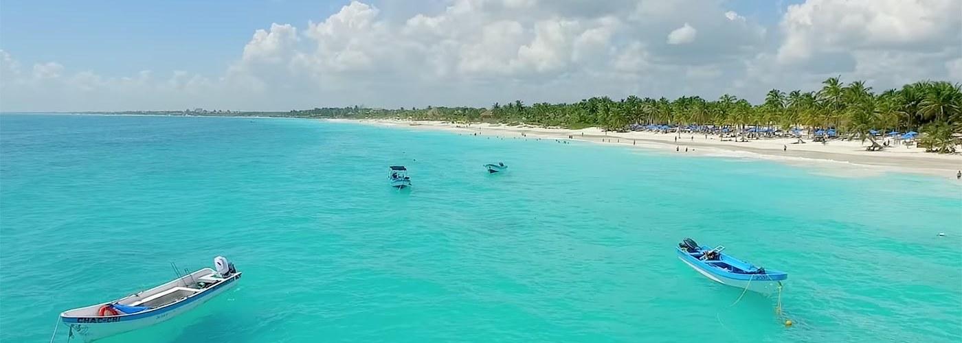 Tulum plage Mexique