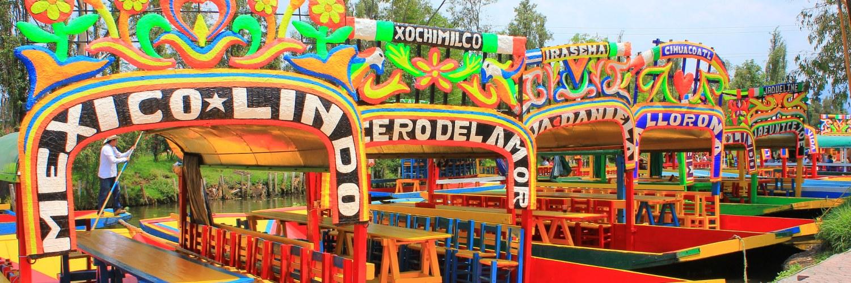 Xochimilco Mexico Mexique