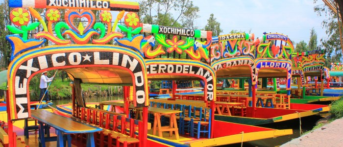 xochimilco- Mexique Decouverte