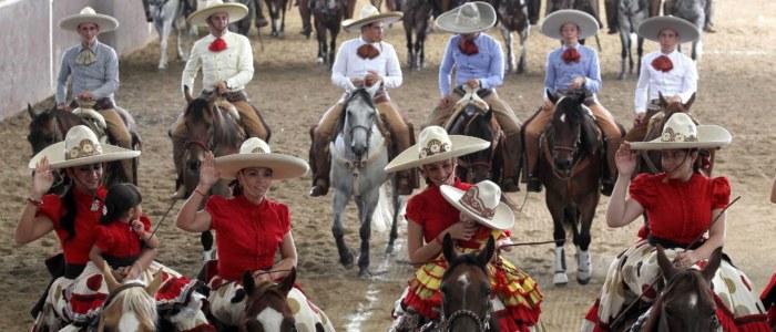 Charreria Mexique