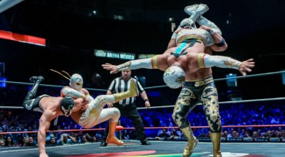 Lucha Libre Mexique
