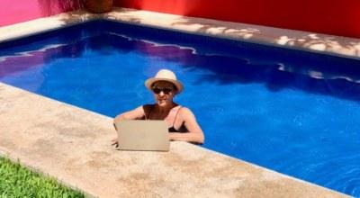 Brigitte Mexique Decouverte teletravail