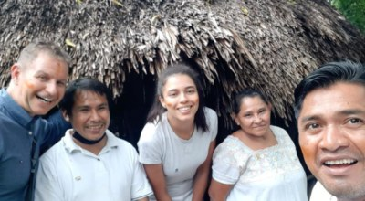 Client Demard communauté Maya Mexique Découverte